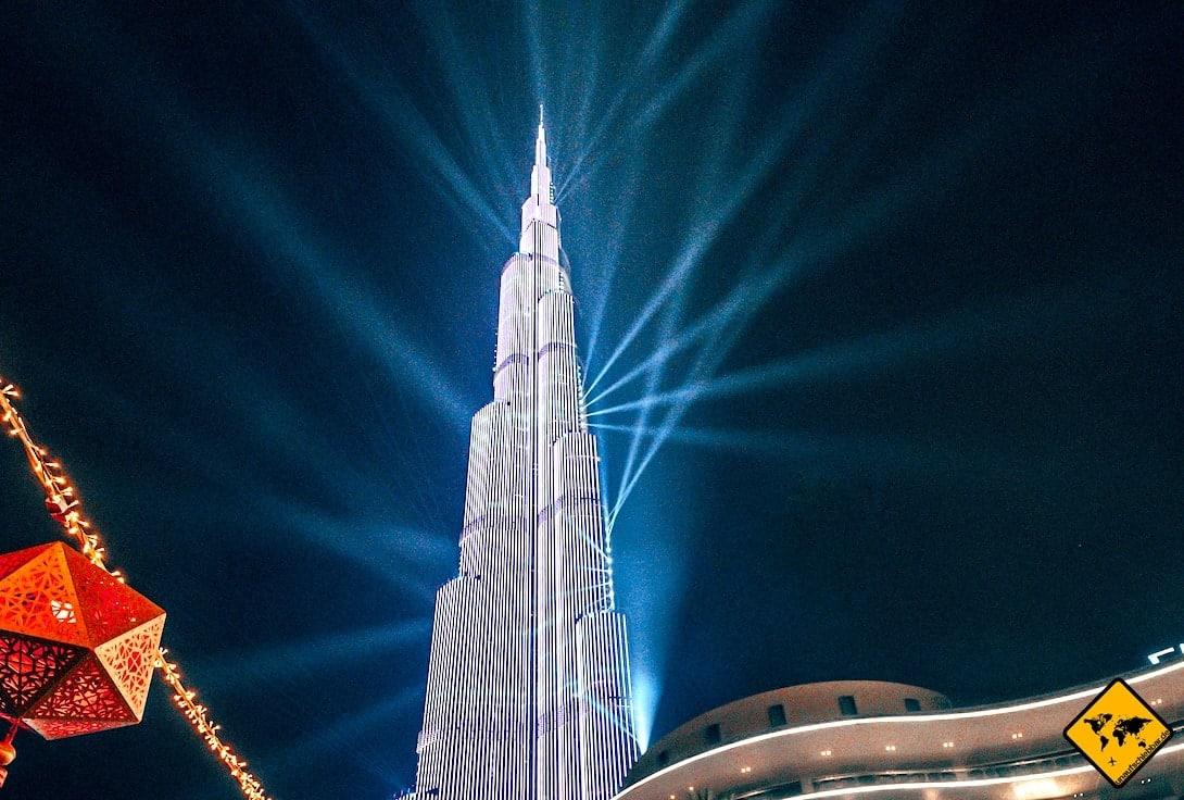 Burj Khalifa Lasershow Downtown Dubai