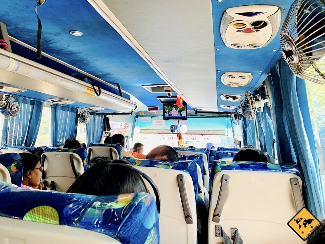 Bus Sri Lanka Sicherheit Transport