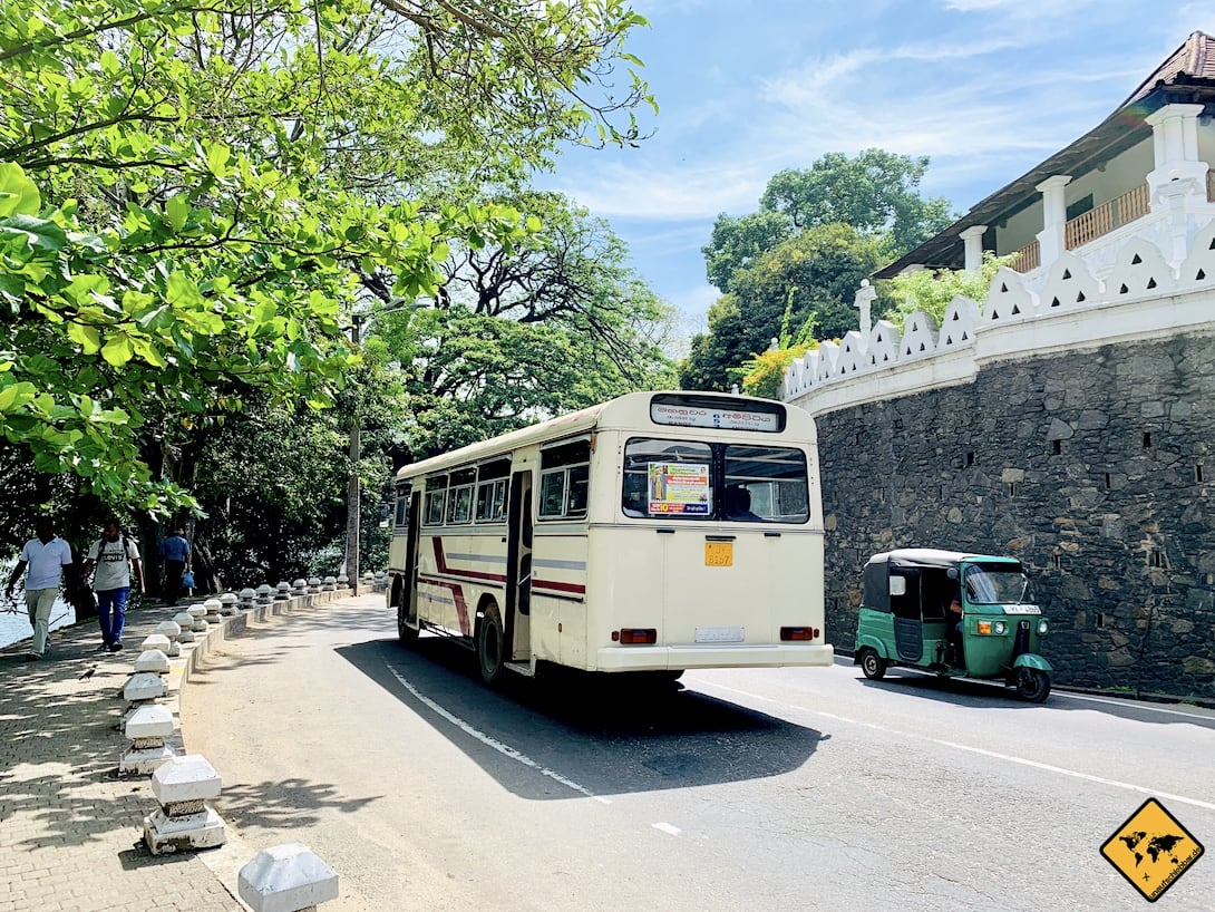 Bus fahren Kandy Sri Lanka