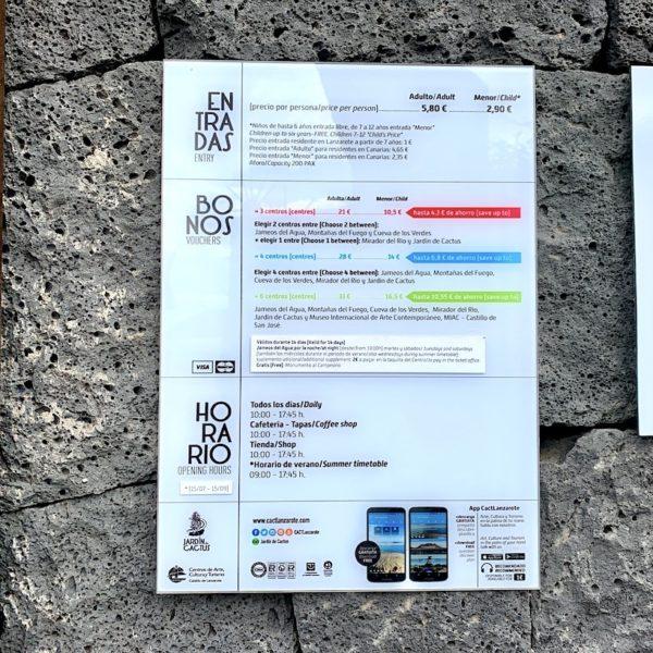 CACT Kombi-Ticket Lanzarote