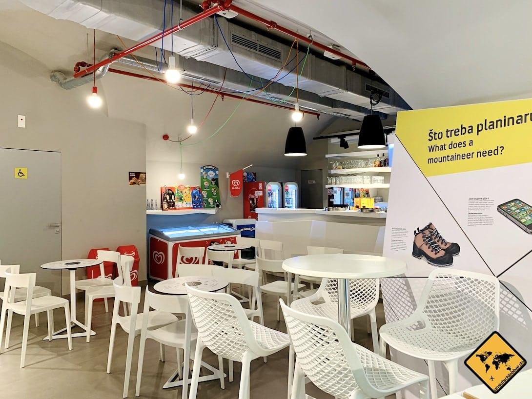 Café Bunker Innenbereich