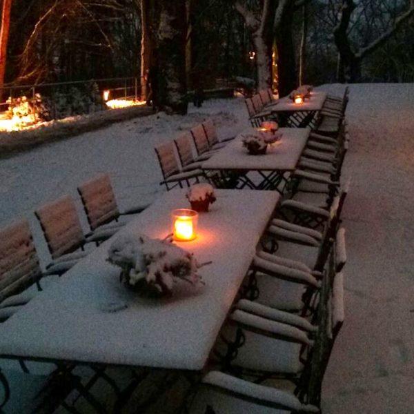 Café Podest Winter