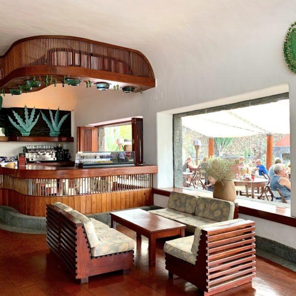 Caféteria Innenbereich Jardín de Cactus Lanzarote