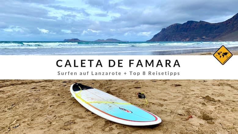 Caleta de Famara Lanzarote