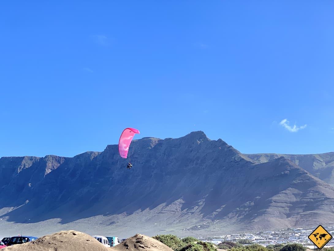 Caleta de Famara Paragliding Lanzarote