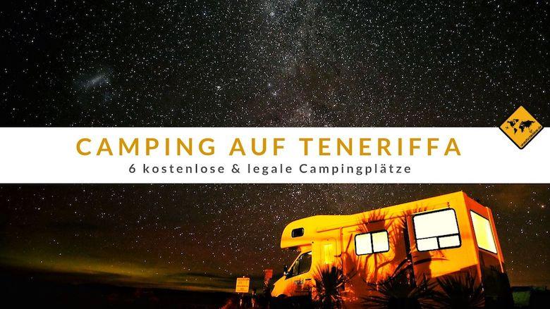 Campen auf Teneriffa