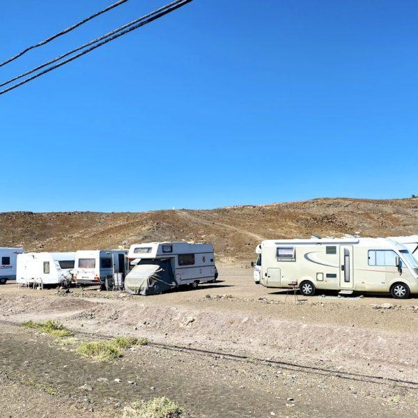 Camping-Parkplatz Fuerteventura Tarajalejo