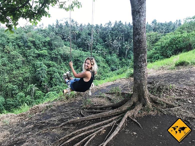 Campuhan Ridge Walk Bali Schaukel