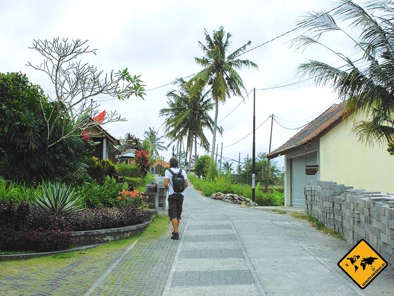 Campuhan Ridge Walk Bali oberer Weg