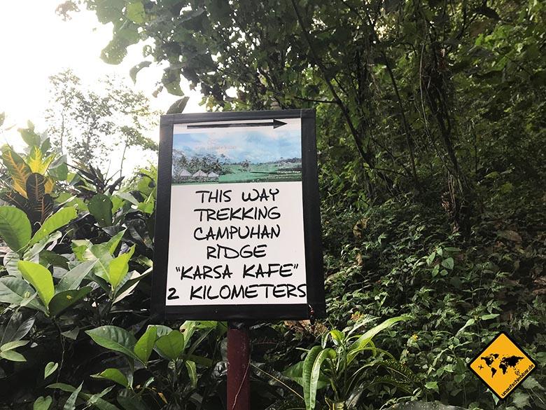 Campuhan Ridge Walk Ubud Bali Karsa Kafe