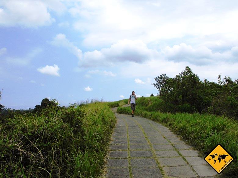 Campuhan Ridge Walk Ubud Bali beste Uhrzeit