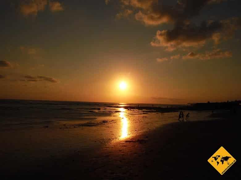 Canggu Bali Sonnenuntergang