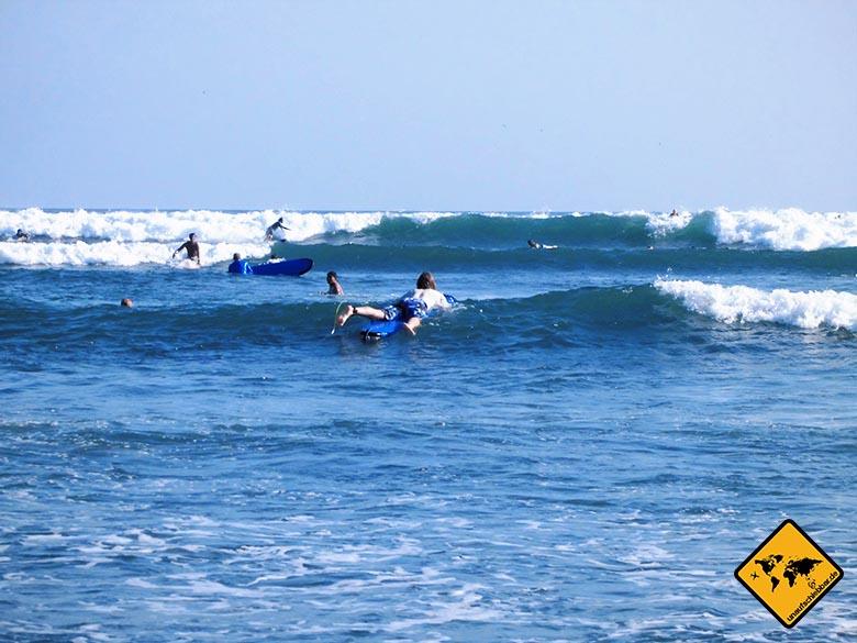 Canggu Bali Surfen