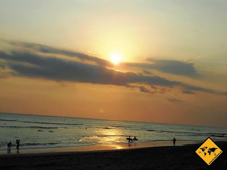 Canggu Bali Surferstrand