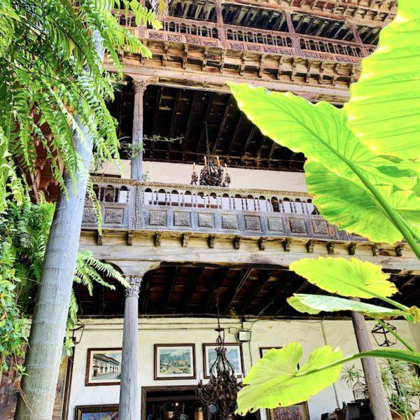 Casa de los Balcones La Orotava Innenhof Balkone