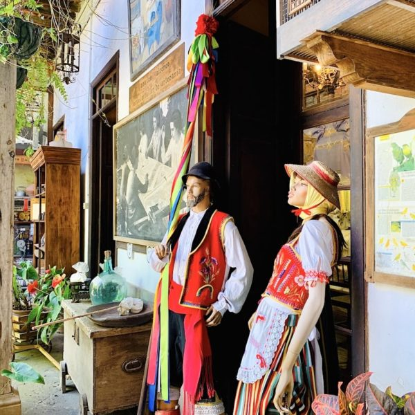 Casa de los Balcones Teneriffa traditionelle Kleidung
