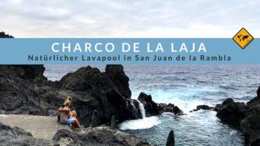 Charco de la Laja (Naturpool am Meer) in San Juan de la Rambla