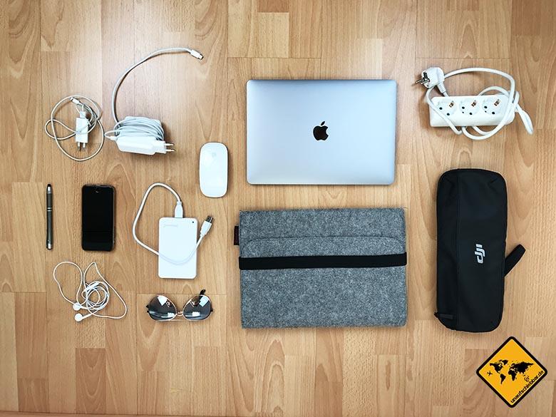 Checkliste Reise Elektronik