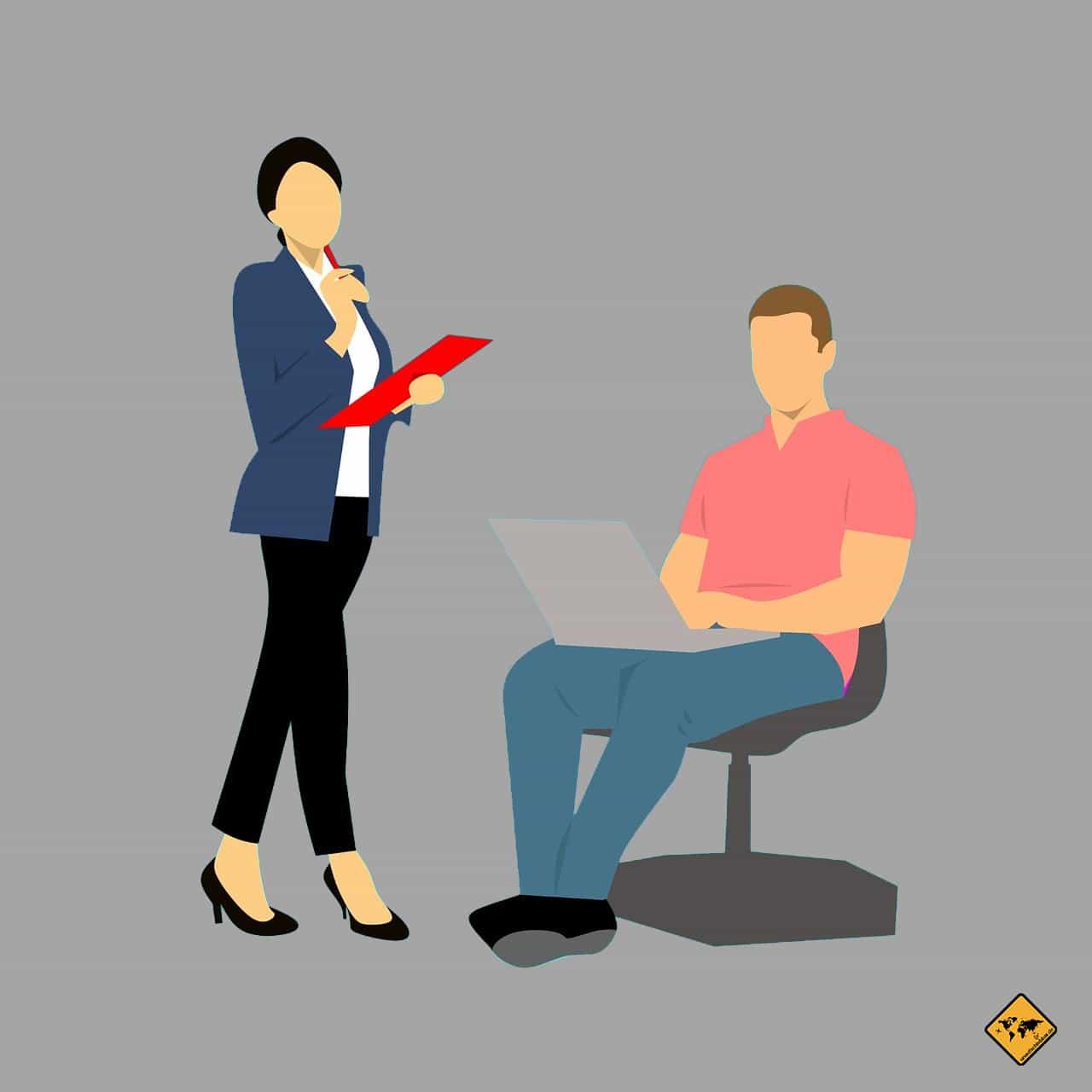 Chef überzeugen von der Remote Arbeit