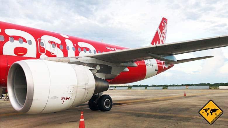 Chiang Mai Anreise Flugzeug