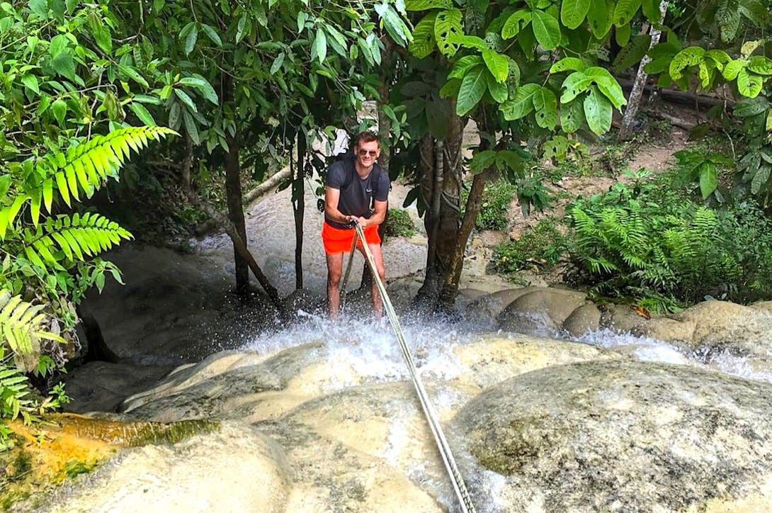 Chiang Mai Ausflüge Sticky Waterfalls