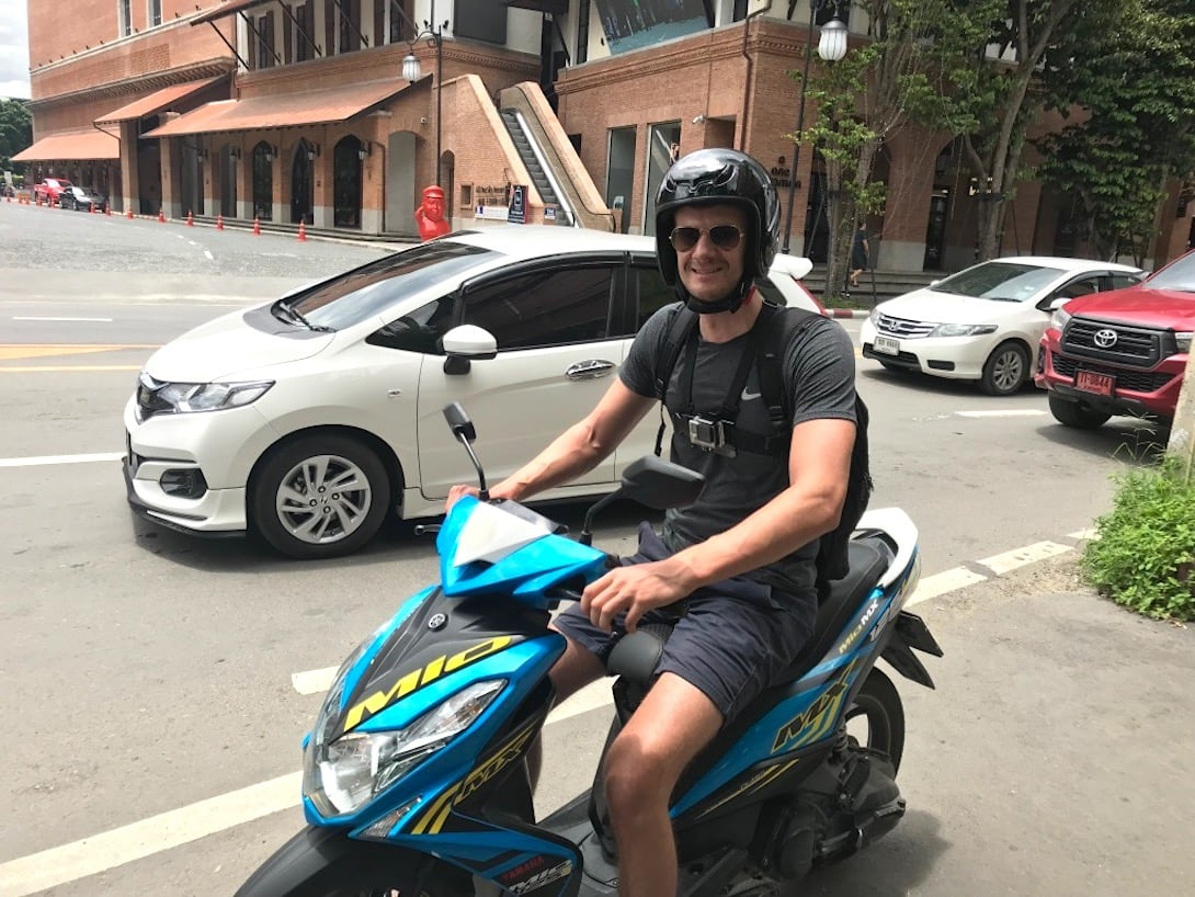 Chiang Mai Ausflüge Roller fahren
