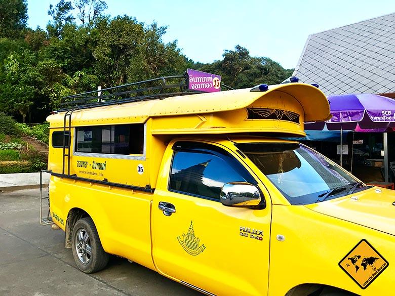 Chiang Mai Ausflüge Sammeltaxi
