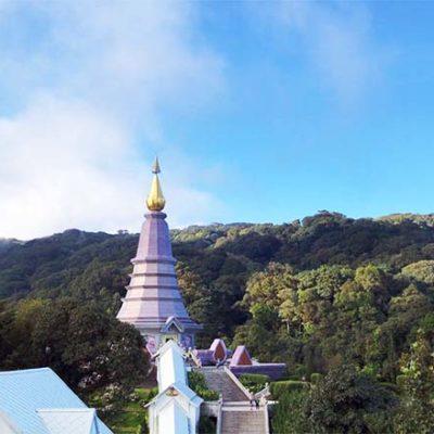 Chiang Mai Ausflüge königliche Pagoden