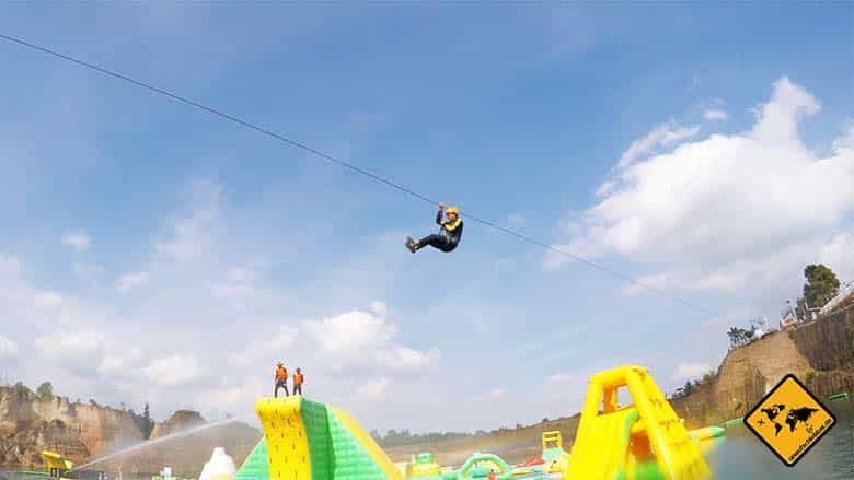 Chiang Mai Grand Canyon Waterpark Ziplining