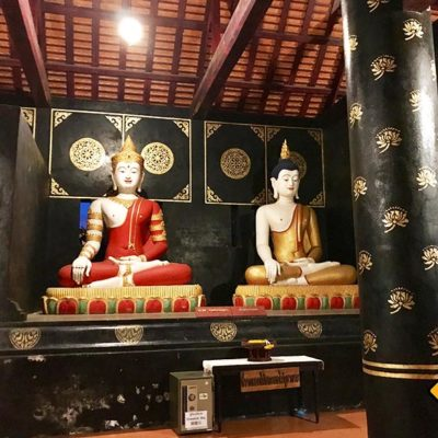 Chiang Mai Sehenswürdigkeiten Buddha-Figuren