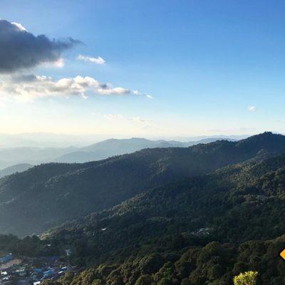 Chiang Mai Sehenswürdigkeiten Doi Pui View Point