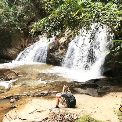 Chiang Mai Sehenswürdigkeiten Mae Sa Waterfall