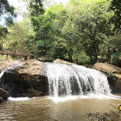 Chiang Mai Sehenswürdigkeiten Mae Sa Waterfalls