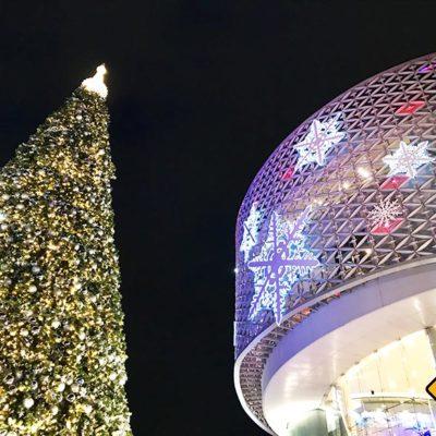Chiang Mai Sehenswürdigkeiten Maya Shopping Center Weihnachten