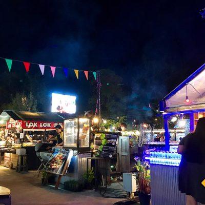 Chiang Mai Sehenswürdigkeiten Night Bazaar