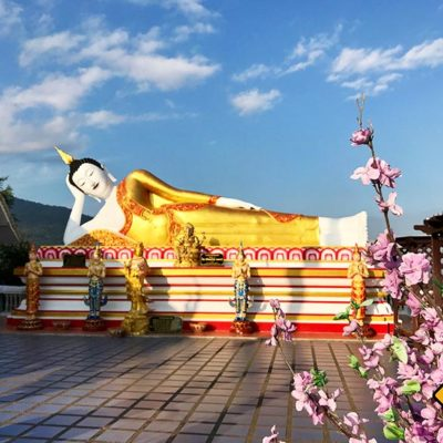 Chiang Mai Sehenswürdigkeiten Wat Phra That Doi Kham