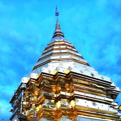 Chiang Mai Sehenswürdigkeiten Wat Phra That Doi Suthep