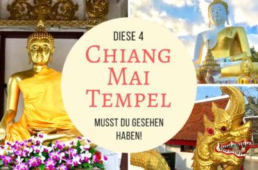 Chiang Mai Tempel – diese 4 Heiligtümer musst du gesehen haben!
