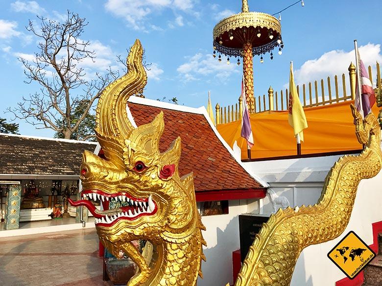 Chiang Mai Tempel Naga