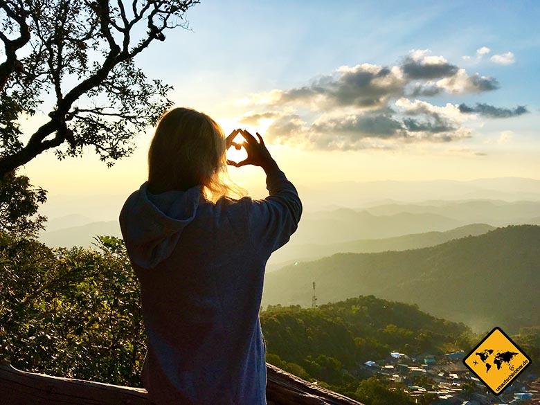 Chiang Mai Unternehmungen Doi Pui View Point