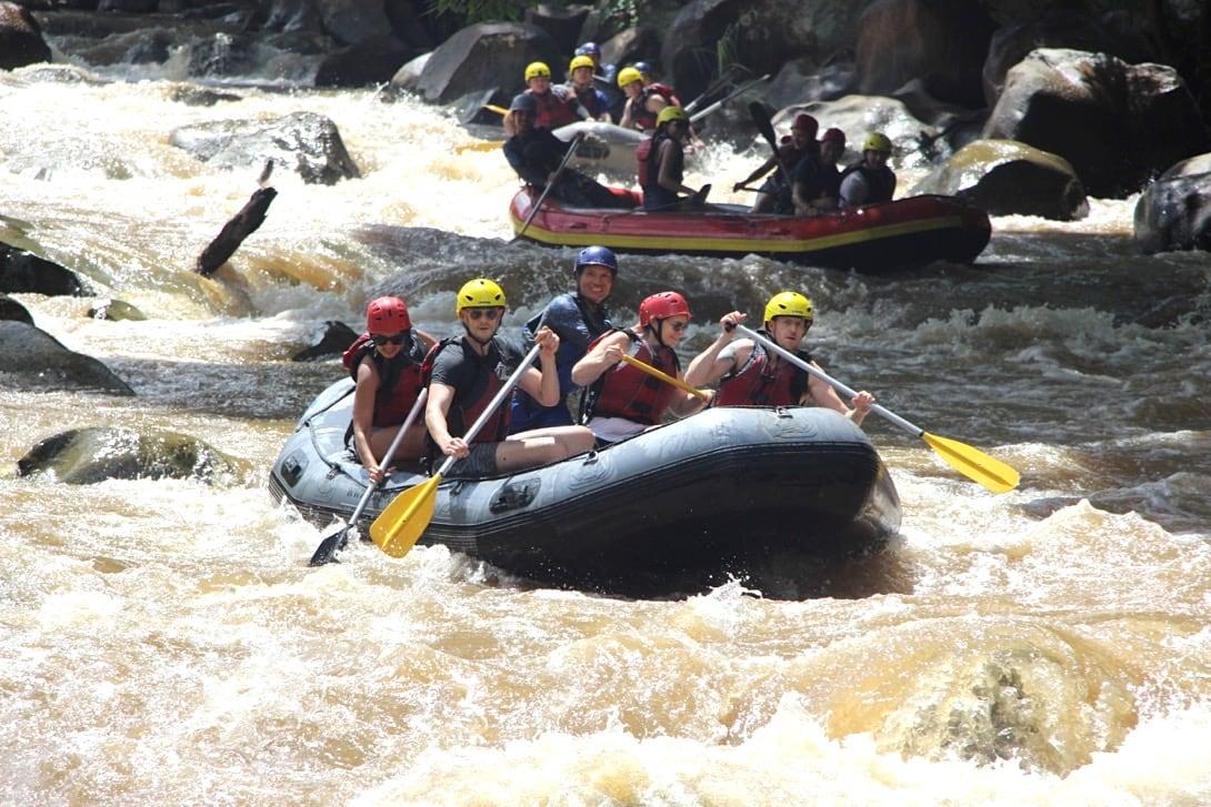 Chiang Mai Unternehmungen Rafting Mae Taeng River
