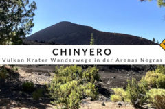 Chinyero – Wanderung über den Wolken vor der Kulisse des Teide