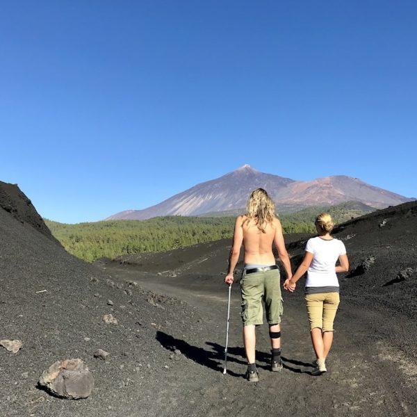 Chinyero Wanderung Teide Nationalpark Teneriffa
