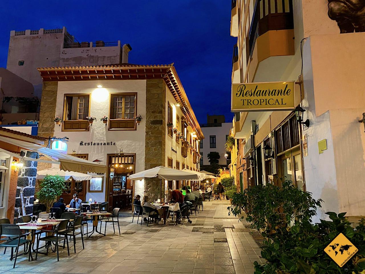Corona Kanaren Restaurants Puerto de la Cruz Teneriffa