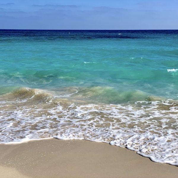 Corralejo Fuerteventura türkis-blaues Meer