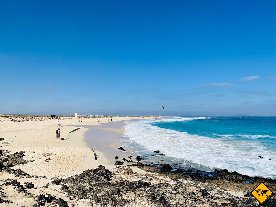 Corralejo Sandstrand Fuerteventura Reiseziele