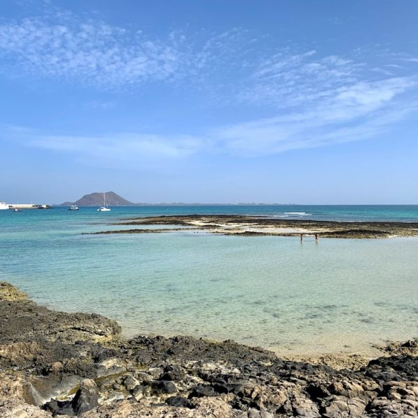 Corralejo Strand flaches Wasser