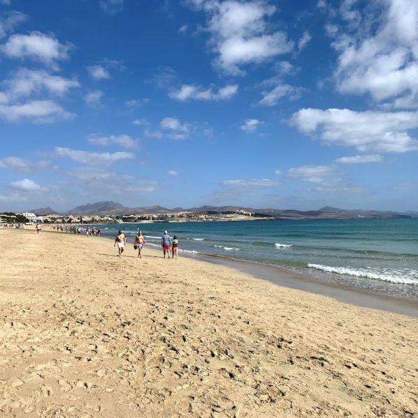Costa Calma Strandspaziergang