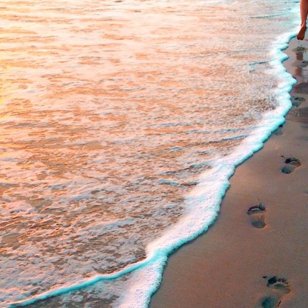 Costa Teguise Strandspaziergang