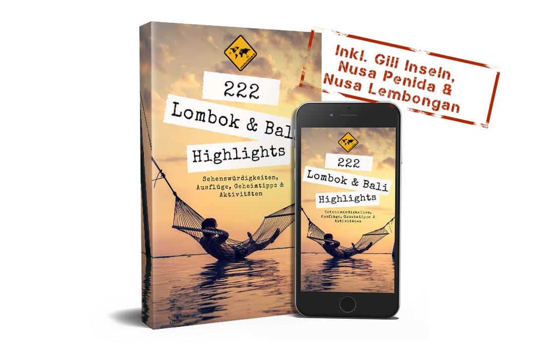 Cover 222 Lombok & Bali Highlights white Background